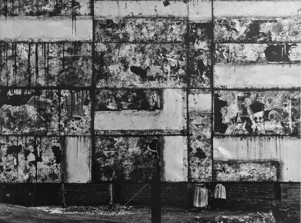 Aaron Siskind, Celaya, Mexico, 1955