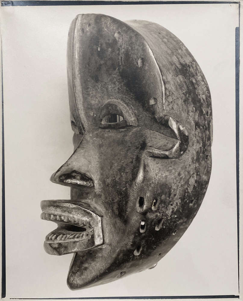 Walker Evans, Untitled (African mask), 1935