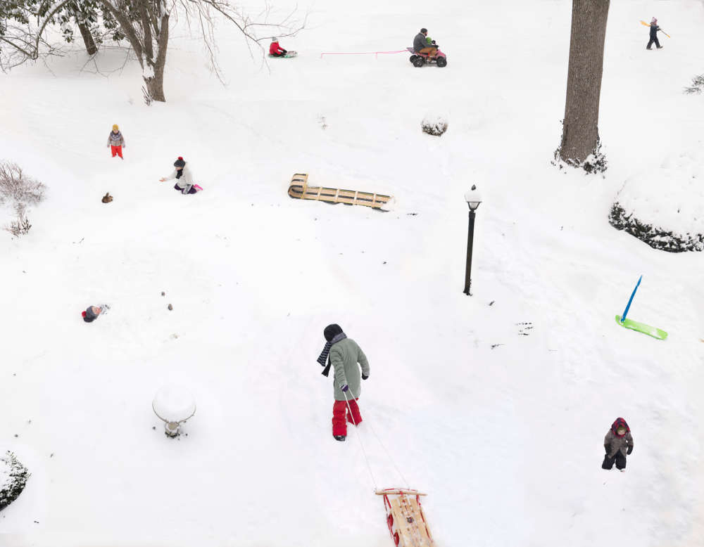 Julie Blackmon, Snow Days, 2021