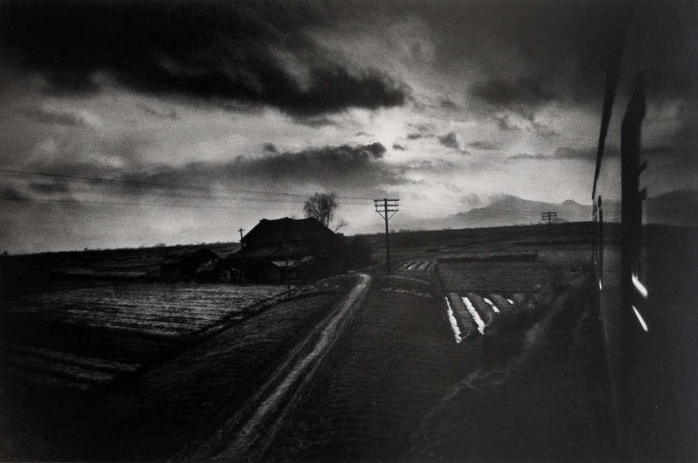 W. Eugene Smith, Landscape from Train, Japan, 1961-1962