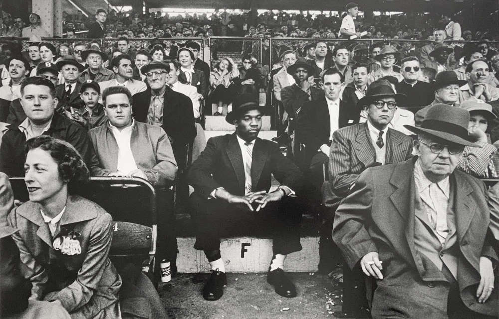 William Klein, F, Ebbets Field, New York, 1955