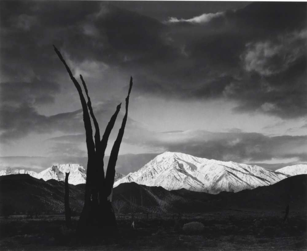 Ansel Adams, Sunrise, Mount Tom, Sierra Nevada, California, ca. 1948
