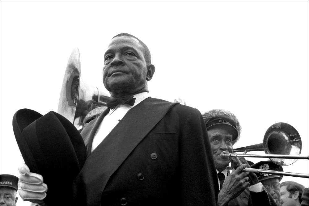 Leo Touchet, Jazz Funeral, Louisiana, New Orleans, No. 2, 1969