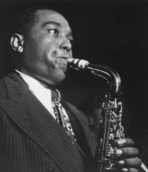 William Gottlieb, Charlie Parker, NYC, 1947