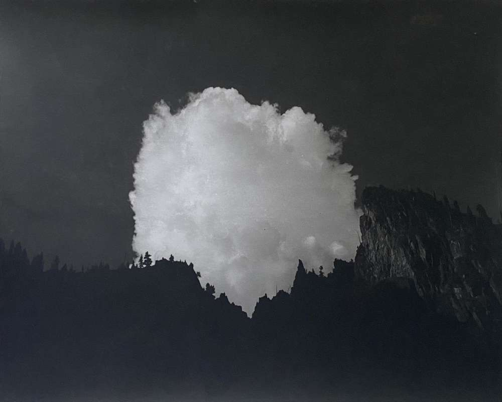 Tommy Nease, Clouds Over the Cascade Crest, 2018