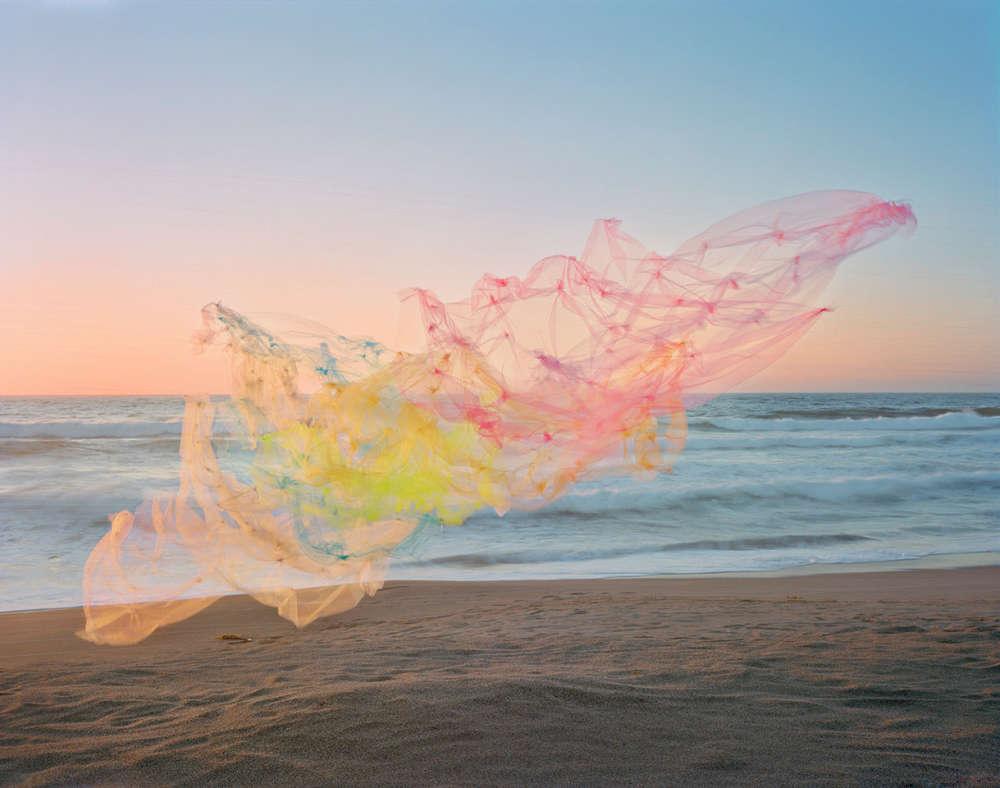 Thomas Jackson, Tulle no. 18, Point Reyes National Seashore, California, 2020