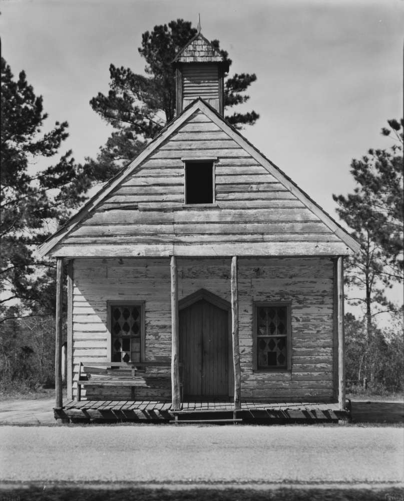Walker Evans, Country Church near Beaufort, S.C., 1935