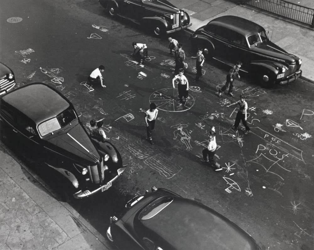 Arthur Leipzig, Chalk Games, 1950