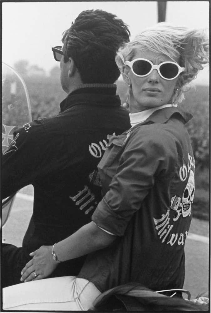 Danny Lyon, Memorial Day Run, Milwaukee, The Bikeriders Portfolio, 1966