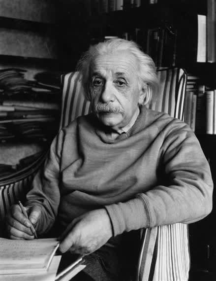 Alfred Eisenstaedt, Albert Einstein, Princeton, NJ, 1949