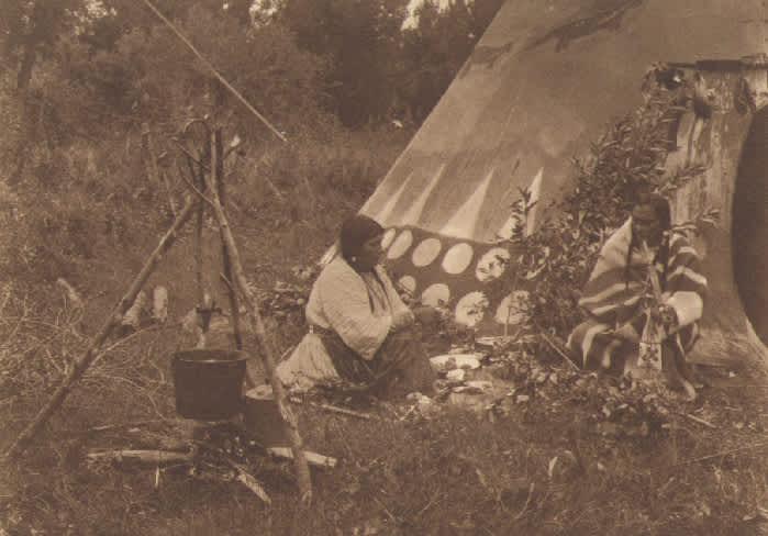 Joseph K. Dixon, An Indian Home, commissioned by Rodman Wanamaker, 1908-1917