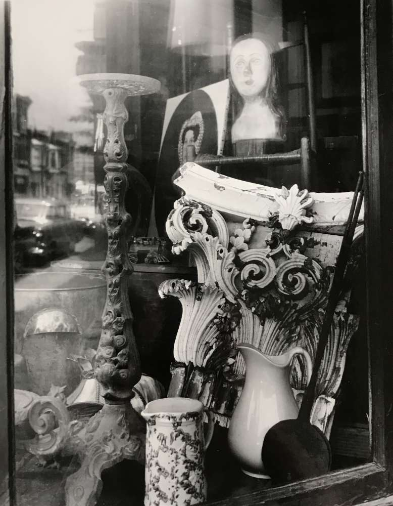 Clarence John Laughlin, Shop for Time Travelers, 1962