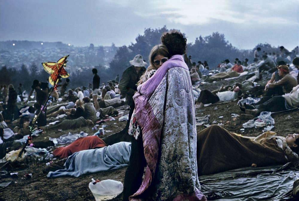 Burk Uzzle, Woodstock Album Cover, 1969