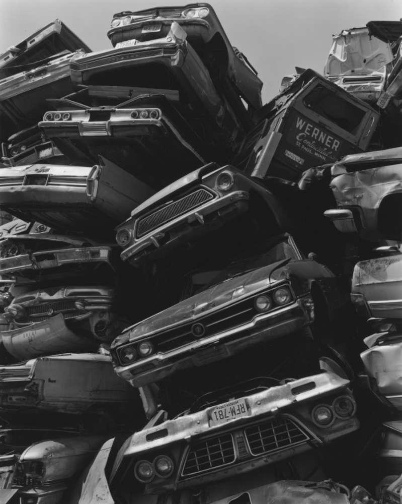 George Tice, Junked Cars, 1973