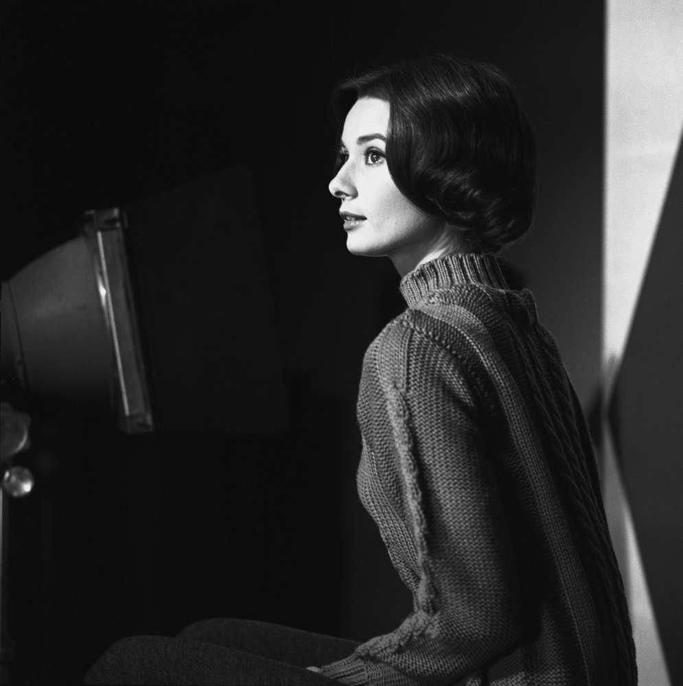 Sid Avery, Audrey Hepburn, 1957