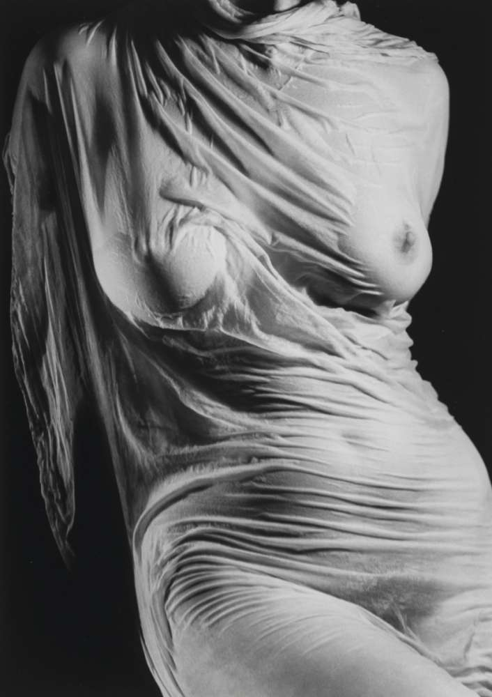 Ruth Bernhard, Wet Silk, 1938