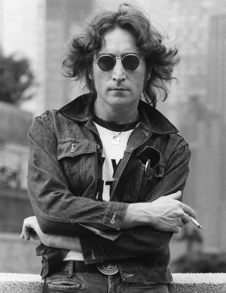 Bob Gruen, John Lennon with Denim Jacket, New York City, 1974