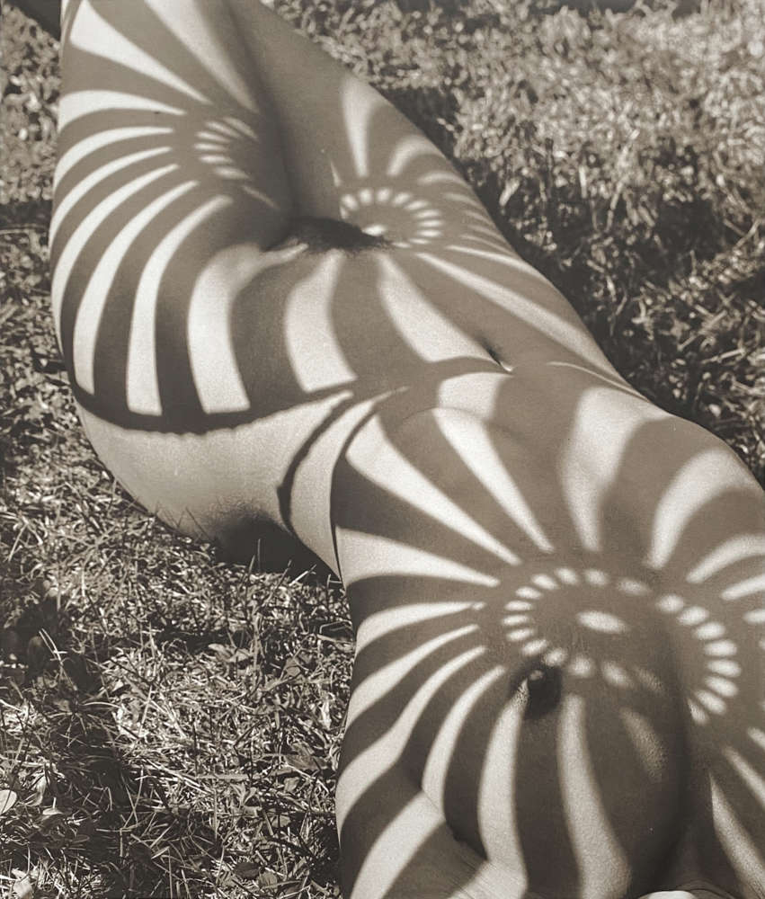 Herb Ritts, Neith with Shadows, Front View, Pound Ridge, 1985
