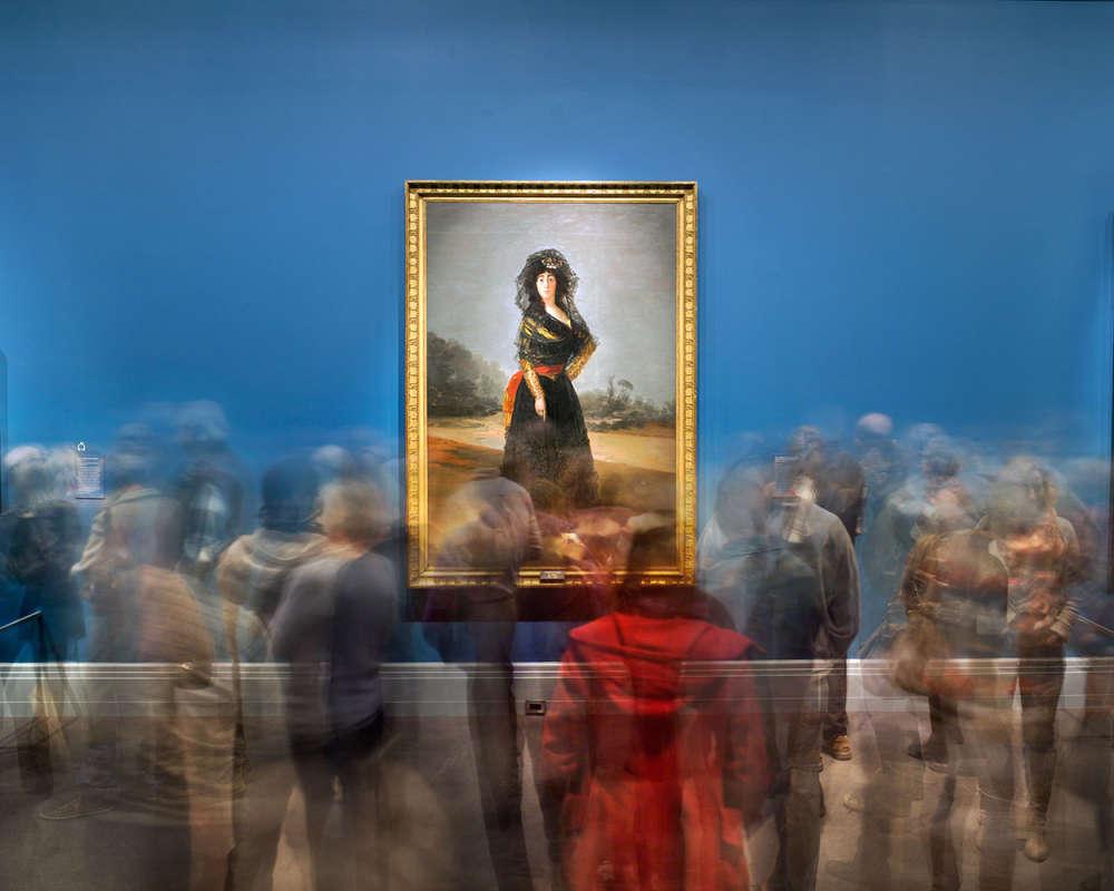 Matthew Pillsbury, Goya's Duchess of Alba, Goya Order & Disorder, Museum of Fine Arts Boston, 2014 (TV14685)