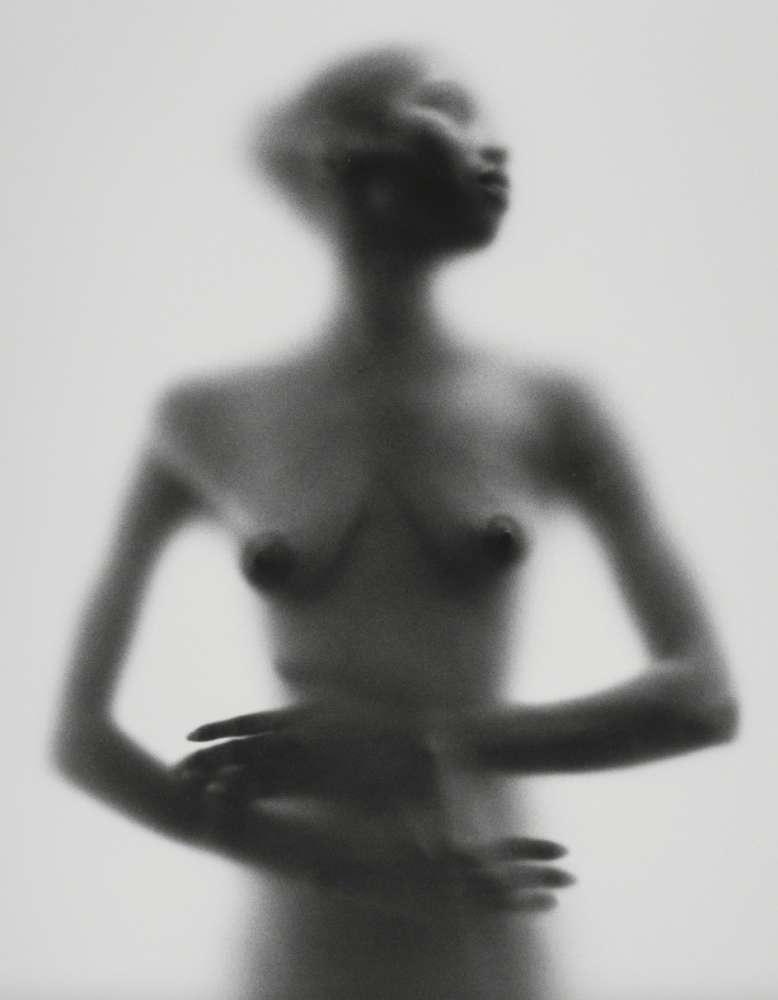 Ruth Bernhard, Veiled Black, 1974