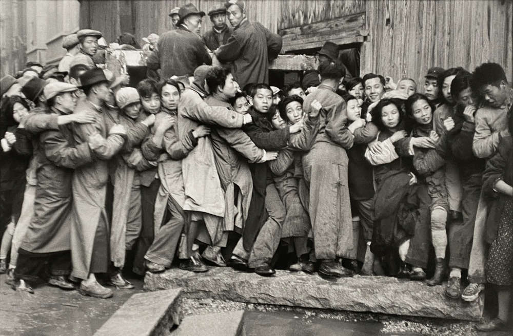 Henri Cartier-Bresson, The Last Days of the Kuomintang (market crash), Shanghai, China, 1948-1949