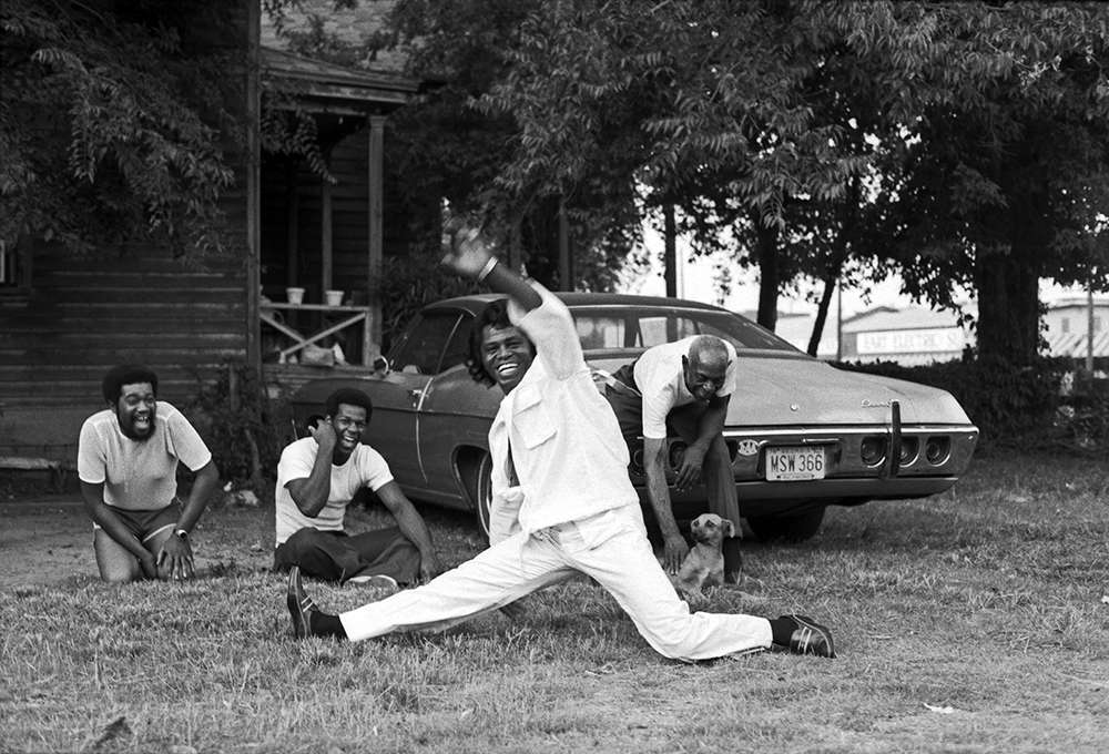 Harry Benson, James Brown Doing The Split, 1979