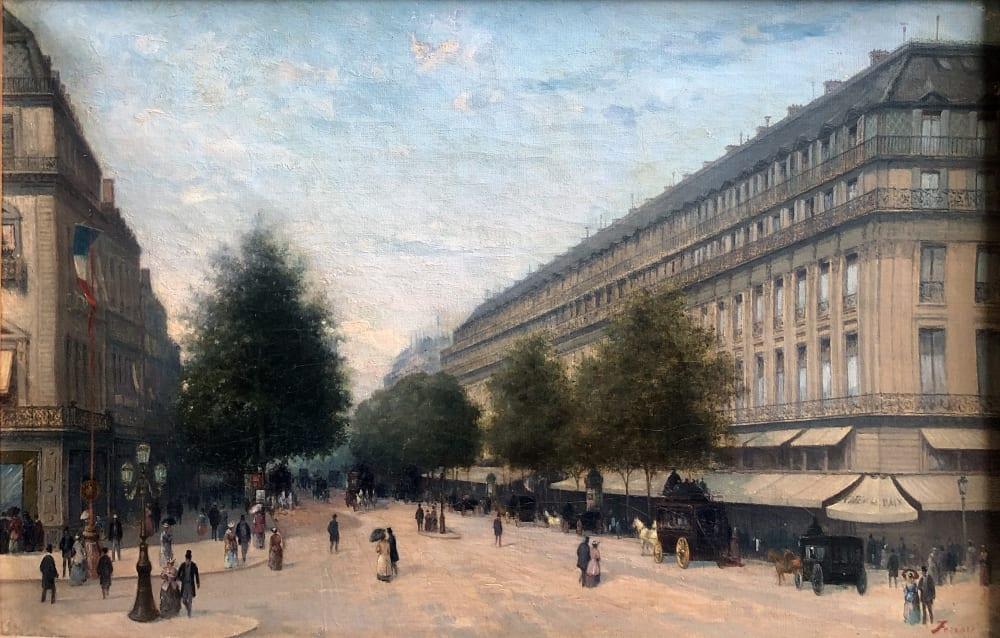 Giuseppe Ferrari, Le Café de la Paix, circa 1890