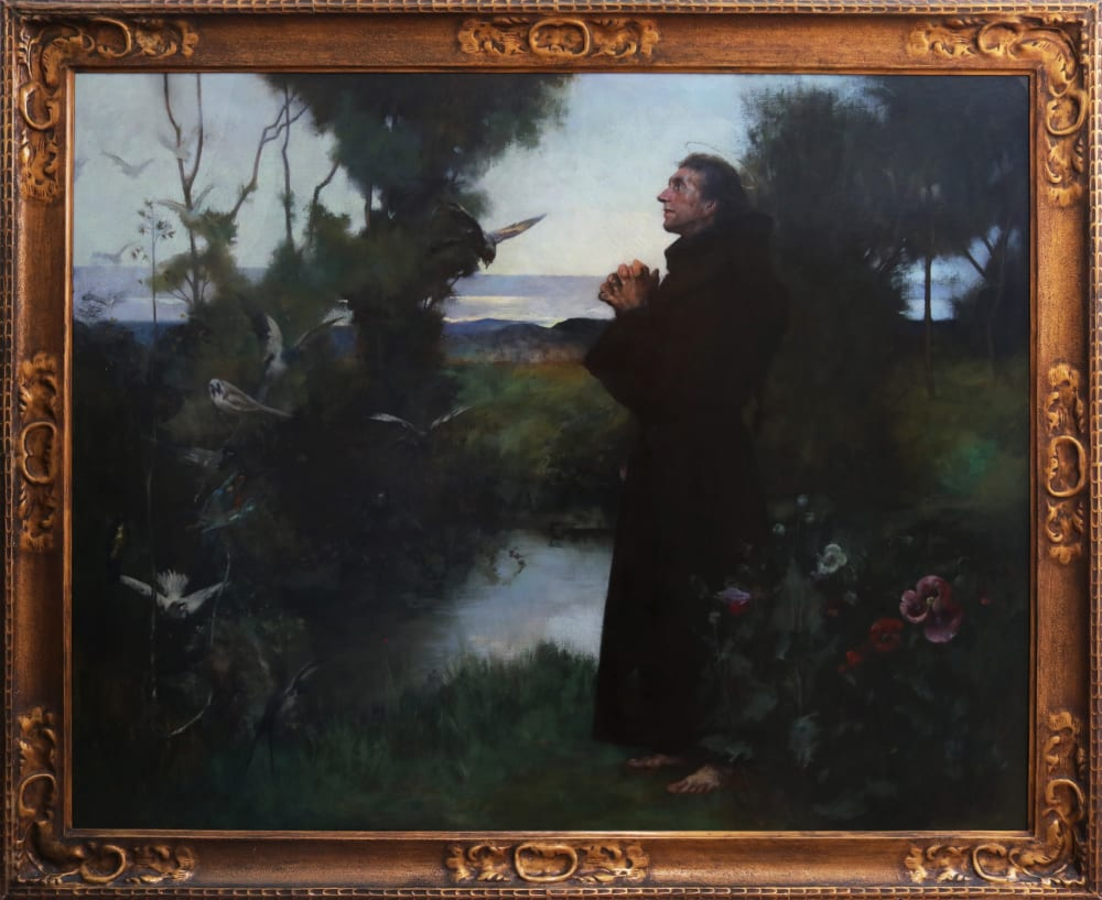 St Francis of Assisi by Albert Chevallier Tayler