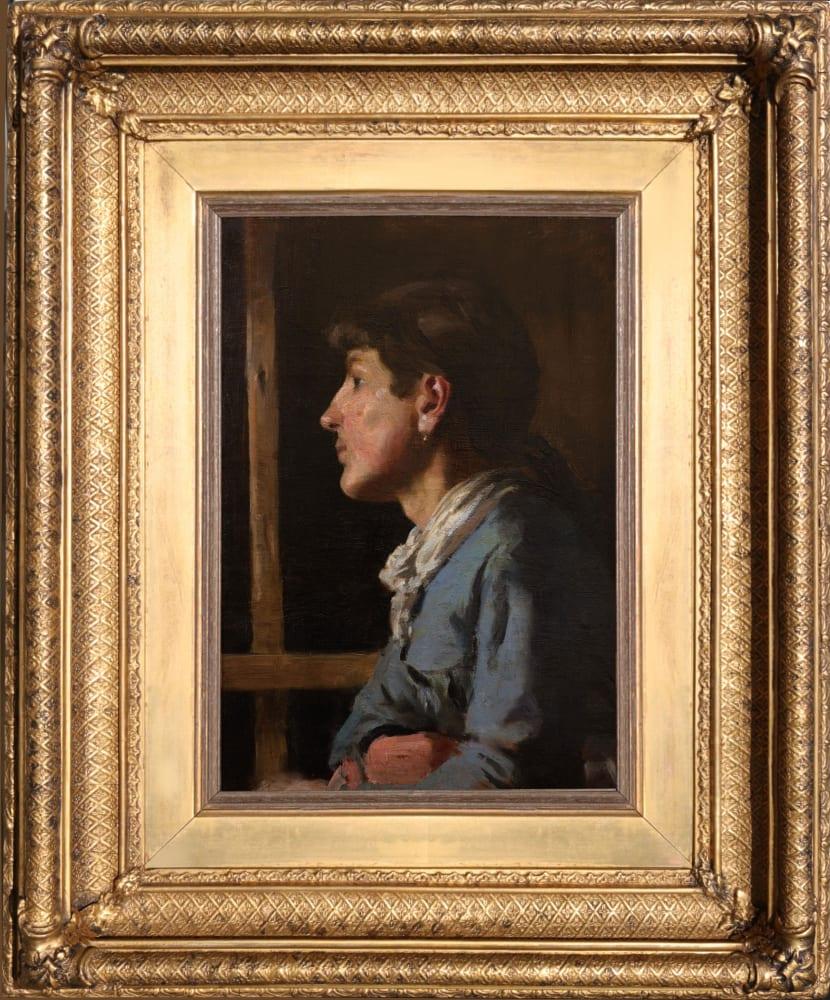 Sarah Ann Stevenson by Henry Scott Tuke