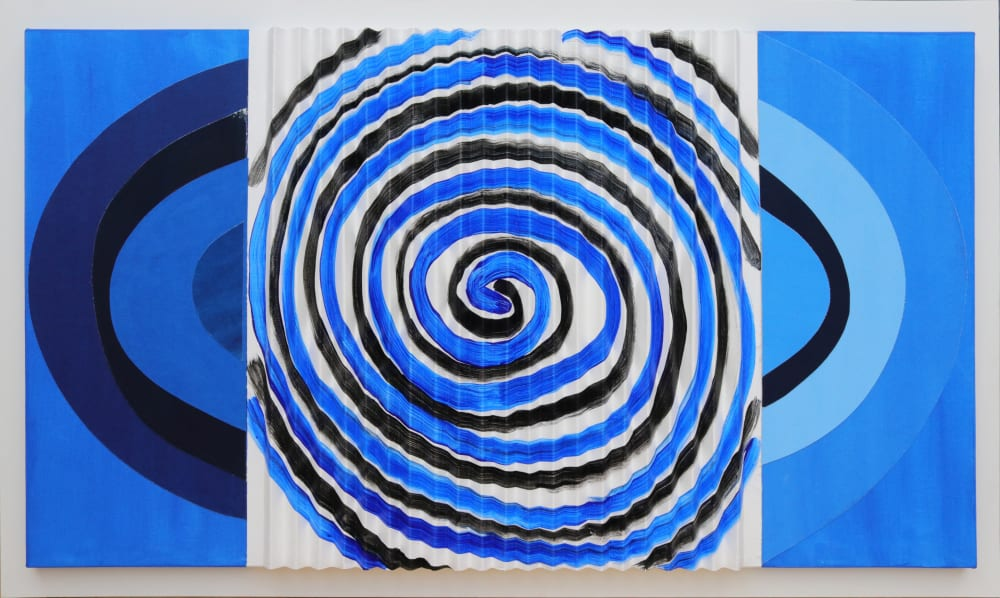 Oval Blue Squeeze by Terry Frost