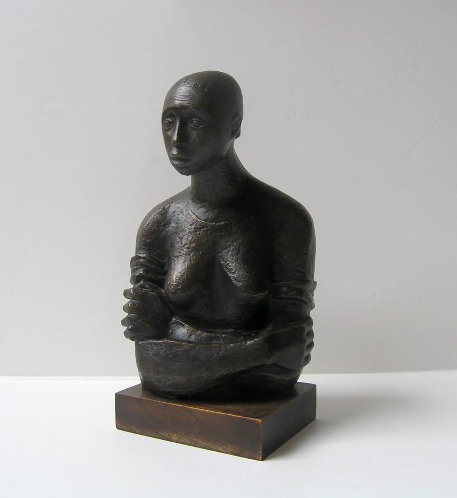 Elizabeth Catlett, Pensive, 1946
