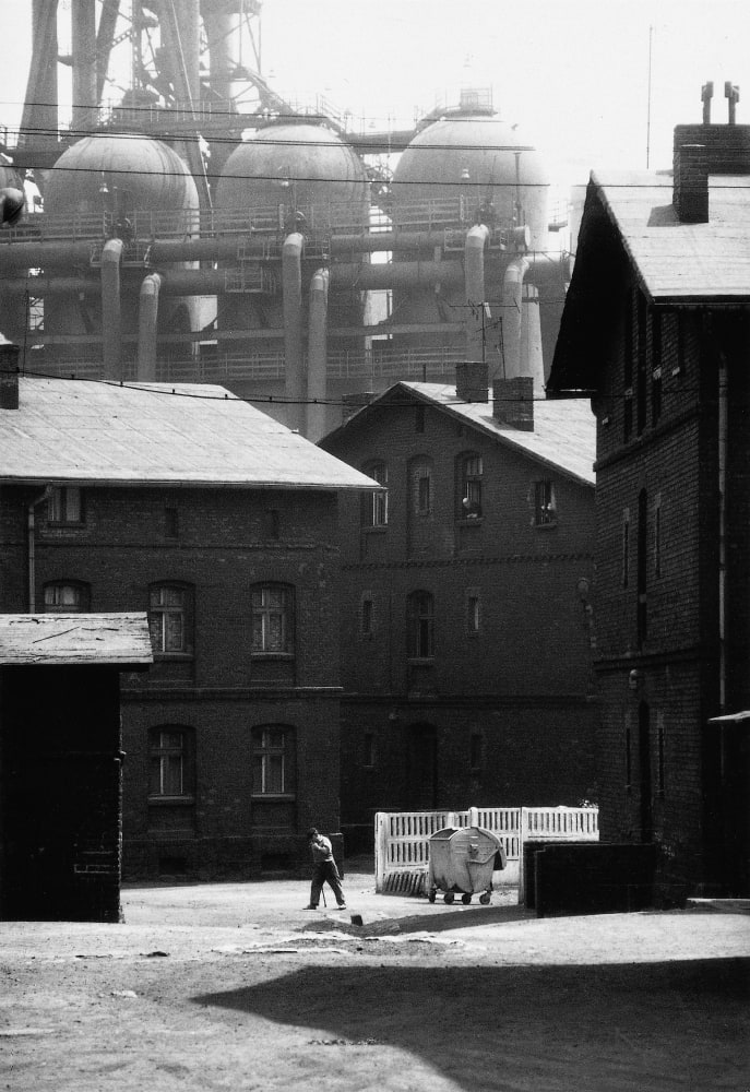 Michal Cala, Housing estate next to Pokoj Steelworks, Silesia, 1976