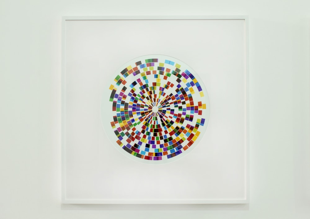 Neil Shirreff, Light Rings No. 4, Light Arranged by Chance series, Unique Photographic Print, 2013