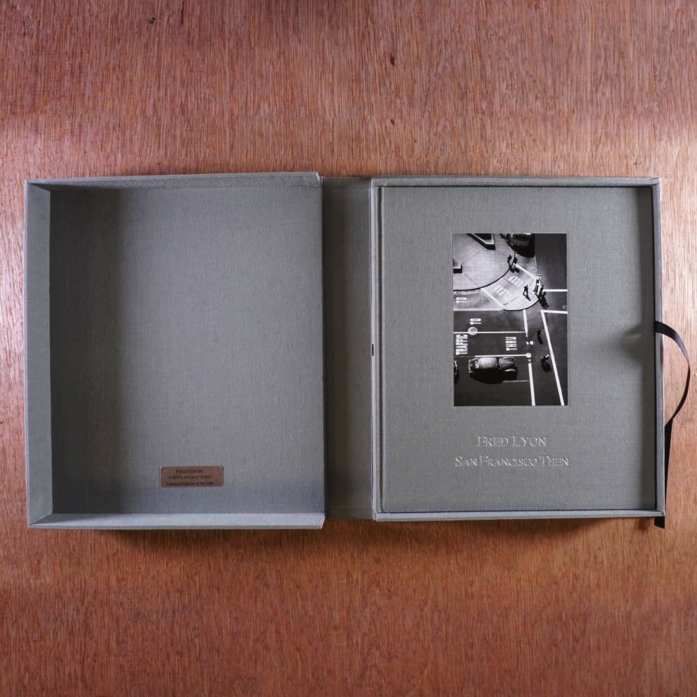 Fred Lyon San Francisco Then (Collector's Edition with Print)