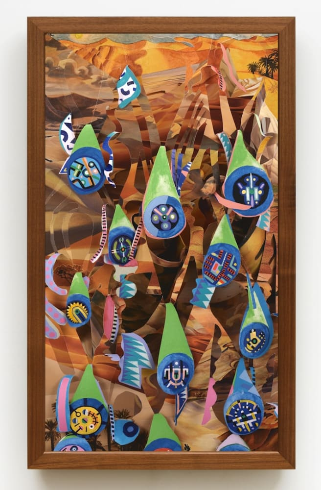 Brian Bress, Dune Medallions (2018). Image courtesy of the artist and Philip Martin Gallery, Los Angeles.