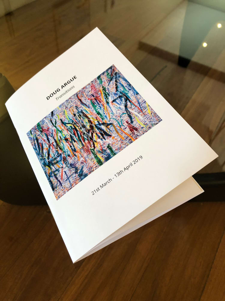 Doug Argue - Transitions Exhibition Catalogue