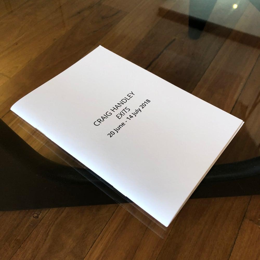 Craig Handley - Exits Exhibition Catalogue