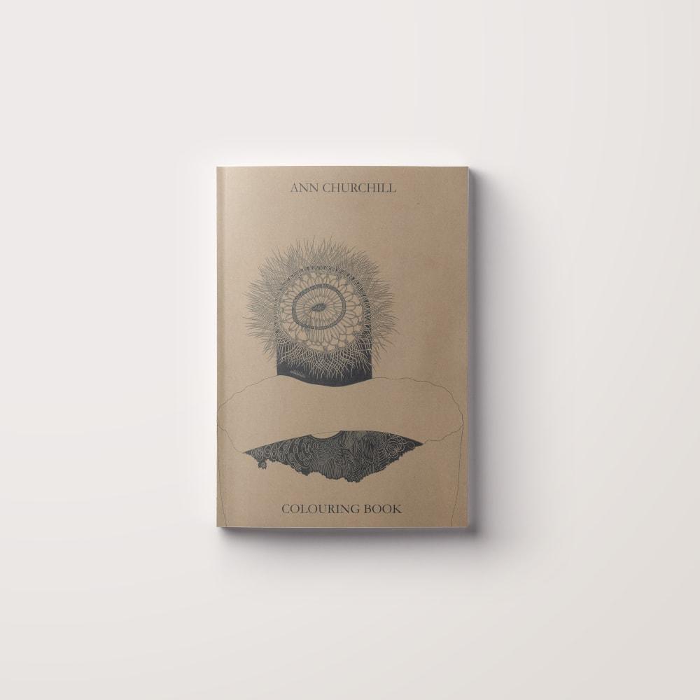 Ann Churchill Colouring book