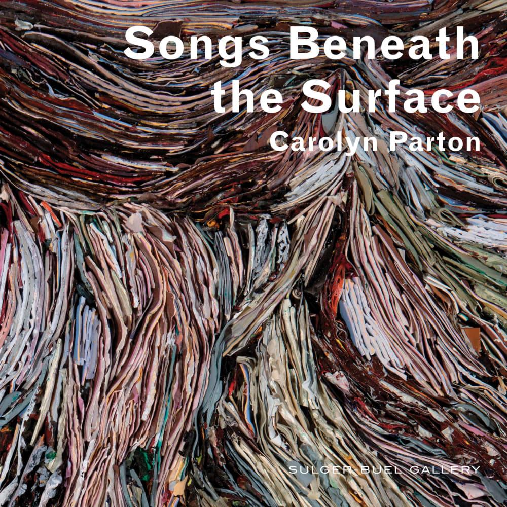 Carolyn Parton l Freedom song (Detail) l 2018 l Reconstituted paint strata l 54x73x8cmx10.5kg
