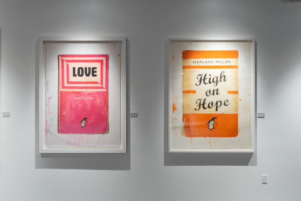Why do so many celebrities buy Harland Miller art?