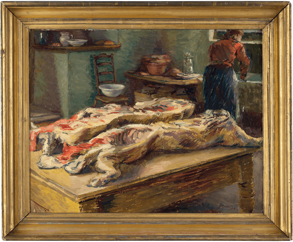 Duncan Grant Pig's Carcass