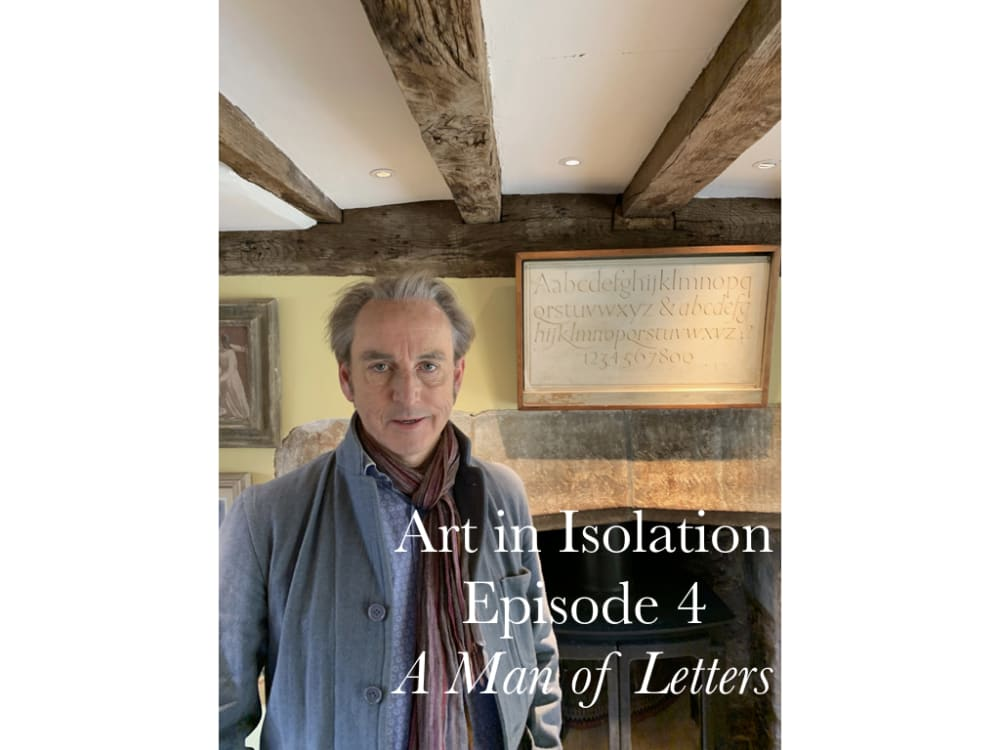 Art in Isolation Episode Four A Man of Letters Promotional Image