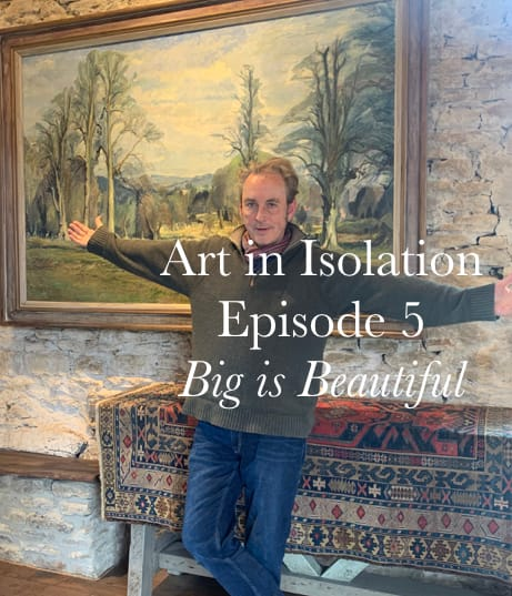 Art in Isolation Big is Beautiful promotional image