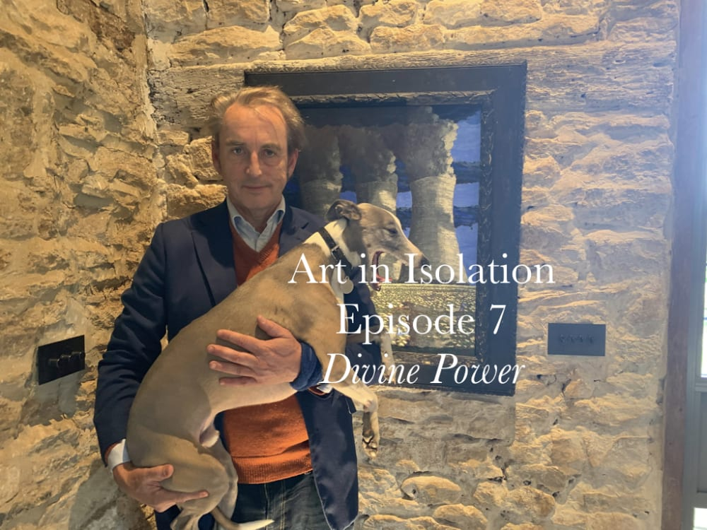 Art in Isolation Episode Seven. Divine Power