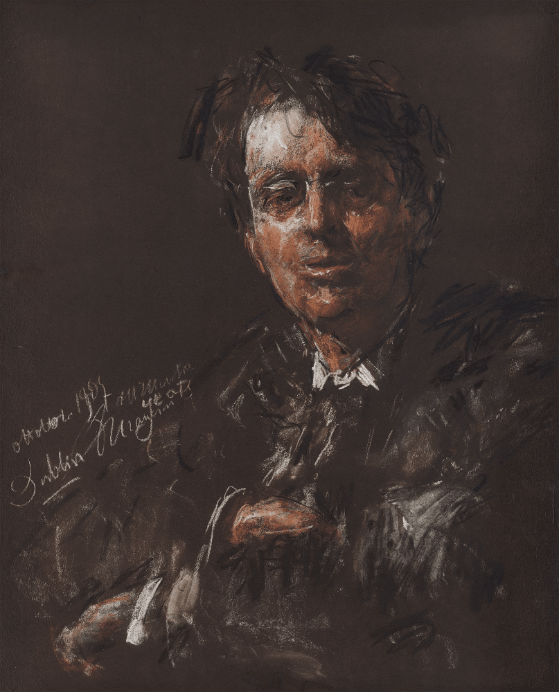 Antonio Mancini William Butler Yeats 1907