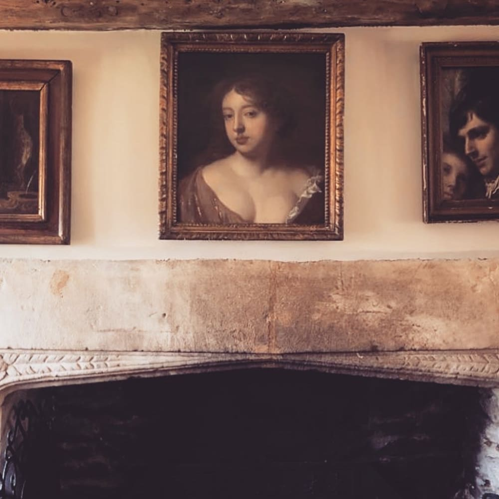 Studio of Peter Lely, Moll Davis at Home