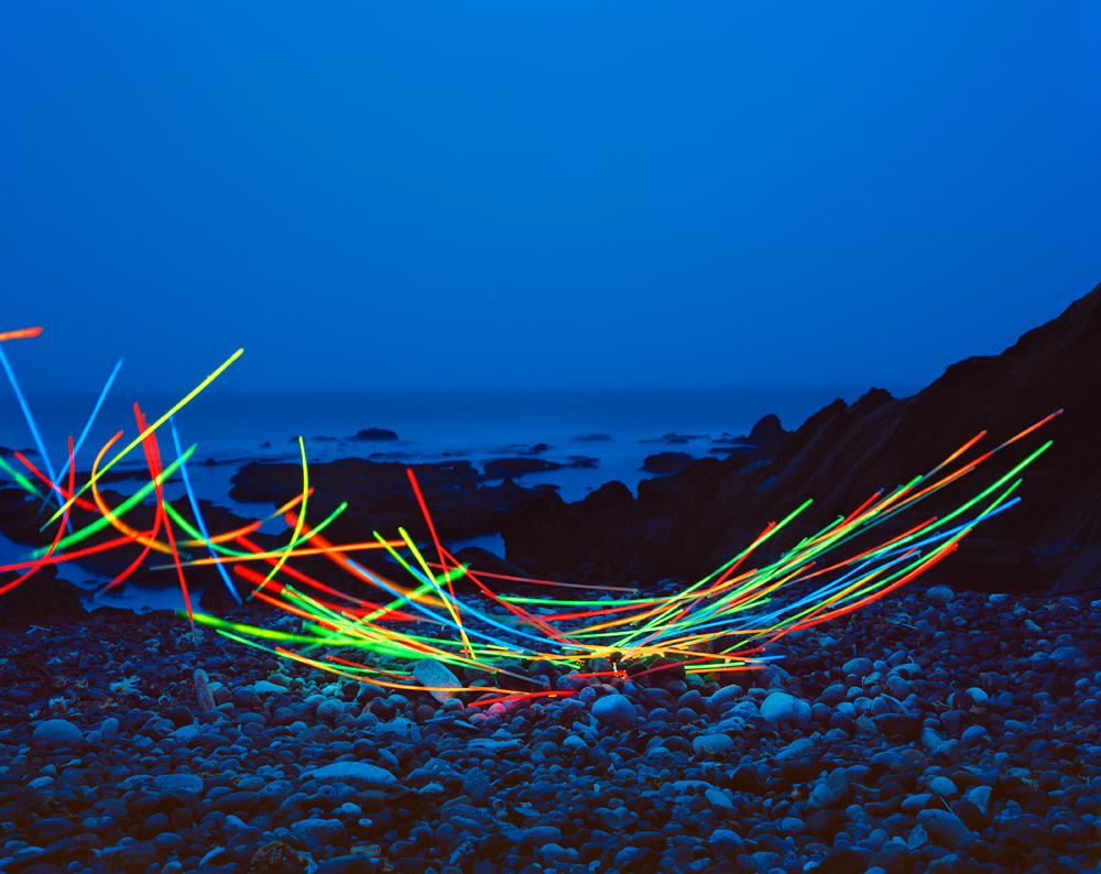 Thomas Jackson, Glow Necklaces no. 2, Pescadero, California, 2016