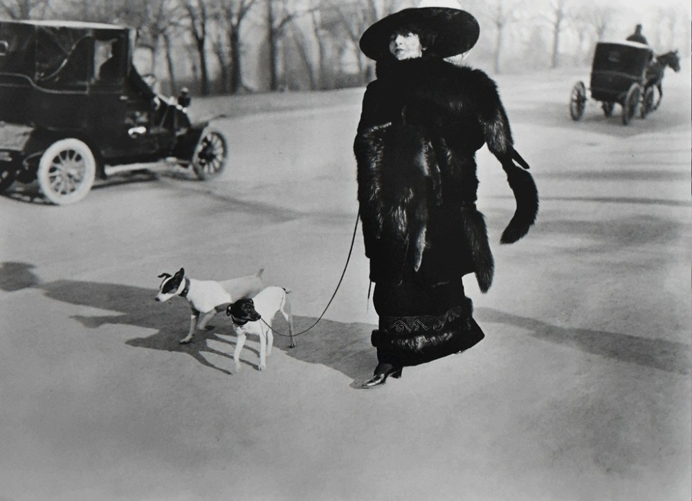 Jacques-Henri Lartigue, Avenue du Bois de Boulogne Paris, 1911