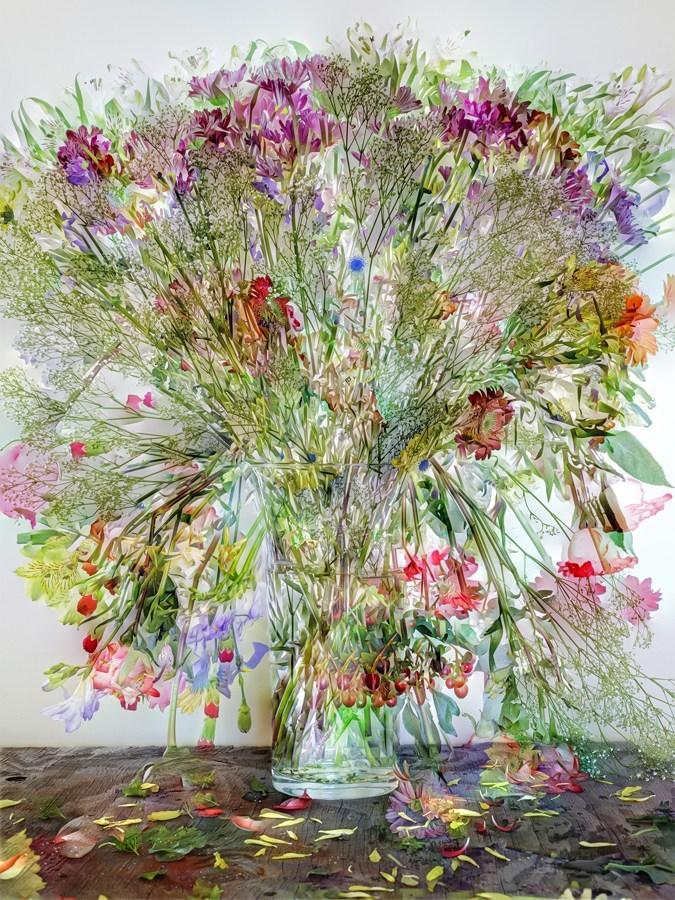 Abelardo Morell, Flowers for Lisa #1, 2014