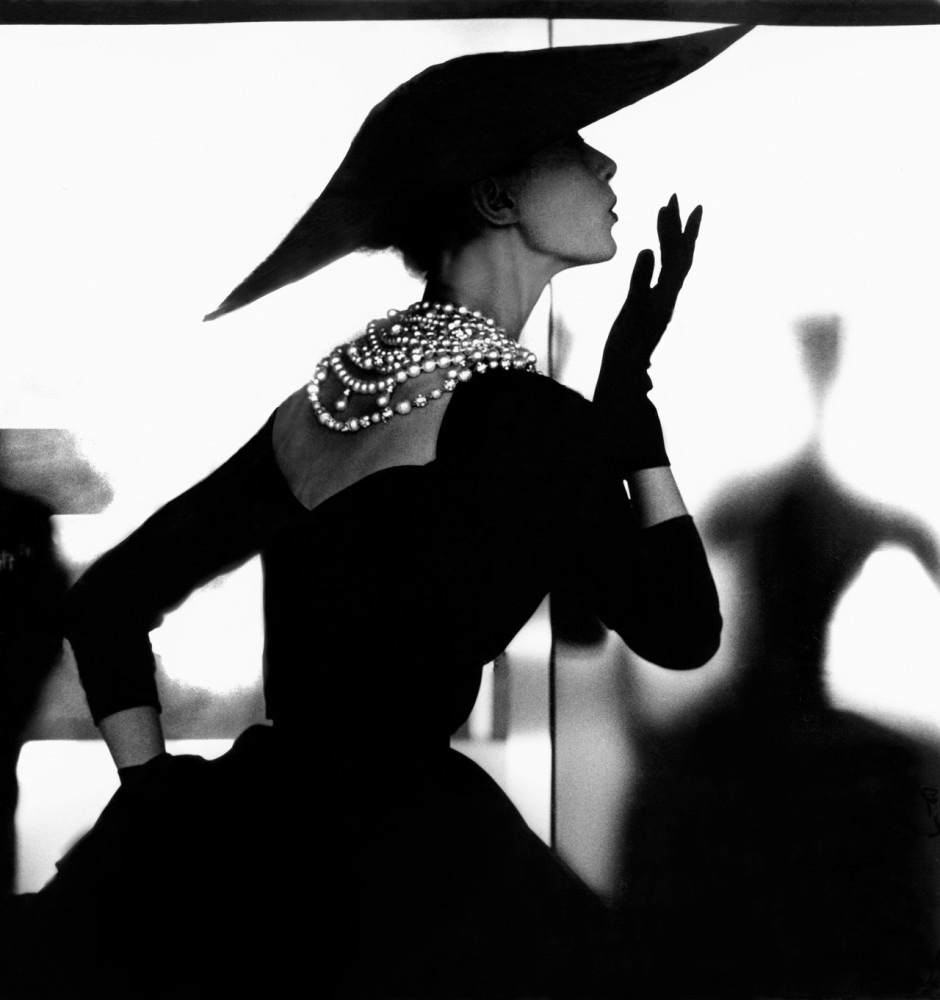 Lillian Bassman, Barbara Mullen Blowing Kiss (Variant), 1950